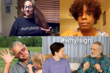 The Story of #whyIsign